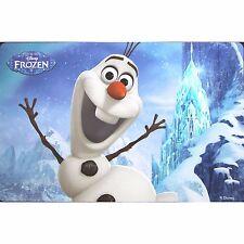 DISNEY set de table enfant LA REINE DES NEIGES frozen Olaf 28 x 43 cm neuf