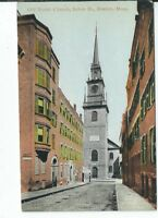 CG-096 MA, Boston, the Old North Church Divided Back Postcard Massachusetts