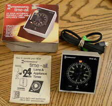 Intermatic Time All Automatic TIMER Box & Instructs Model E911 VTG Tested Works