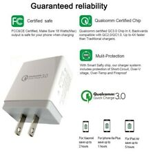 10W 12W 18W 3.0A Wall Charger Qualcomm Cube for iPad Air iphone SE,6,7,8,X,XS,XR