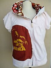 Nina Simone Tribute Custom Hoodie Giant Hood Cap Sleeve Size Xxl Ooak