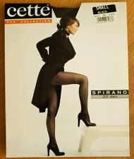 Cette Fun Collection Black fancy pantyhose - SPIRANO 20 den Size Small