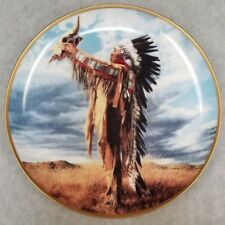 """F.Mint 1991 Collector's Plate """"Prayer to the Great Spirit"""" Ltd Edition"""