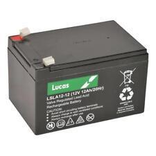 LUCAS 12V 12AH Peg Perego Gator HPX Toy and Riding Car 12AH AGM Battery