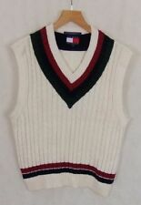 Cotton Patternless Sleeveless Jumpers & Cardigans for Men