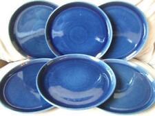 Tableware Blue Stoneware Dinner Plates