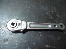 """Imperial Eastman Chicago vintage Ratchet Spanner Wrench 123C Made in USA 1/4"""" Dr"""