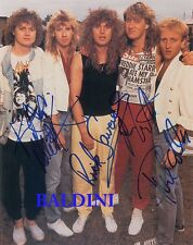 DEF LEPPARD - SIGNED 10X8 PHOTO, GREAT STUDIO IMAGE, LOOKS GREAT FRAMED