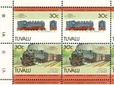 1952 DR Class 99.77 2-10-2T Germany Train 50-Stamp Sheet / LOCO 100 LOTW