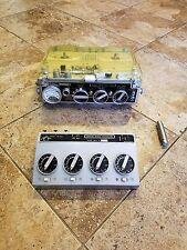 Vintage Kudelski NAGRA III Portable Reel Tape Recorder & BM II Mixer Clean