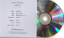 DEACON BLUE CD Walking Back Home Rare 17 Track STUDIO Acetate 1999 + Promo Sht