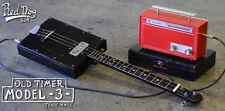 Cigar Box Guitar - 3 - String Old Timer Blues / Bottleneck dobro & slide