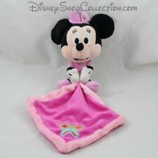 Peluche mouchoir souris PTS SRL Disney Minnie rose 35 cm (MO4281)