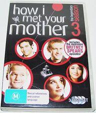 HOW I MET YOUR MOTHER--Season 3---( Dvd 3 Disc Set)