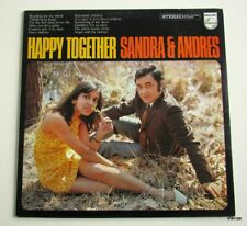 LP Sandra & Anders-Happy together  **Holland 1969,Philips 873031 UBY