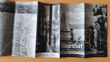 altes Reise Prospekt Klagenfurt, Am Wörthersee, Kärnten, 1939