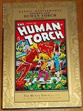 MARVEL MASTERWORKS HUMAN TORCH GOLDEN AGE VOL 3 #9-12 HARDBACK GN 9780785133490