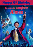 THE GREATEST SHOWMAN personalised A5 birthday card - any NAME AGE RELATIONSHIP