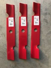 """3 Pack HD Hi Lift Blades for 48"""" Exmark 103-6401 103-6401-S 16-1/4"""" USA MADE"""