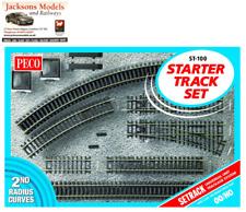 Peco ST-100 Setrack Starter Track Set OO/HO Gauge