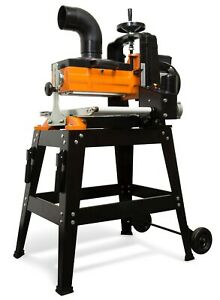 """WEN 65911 10.5-Amp 10"""" Drum Sander w/ Rolling Stand and Variable Speed Conveyor"""