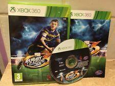 Liga de Rugby Live 3 para Xbox 360 Juego Completo-más Rugby
