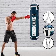 Muay Thai,MMA Ju Sports Boxen Sandsack Buffalo Leder 150cm x 35cm Kickboxen
