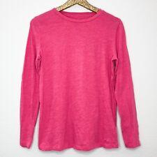 6489c54da41763 Vineyard Vines Womens Shirt Heather Pink Crewneck Long Sleeve Basic Top Size  XS