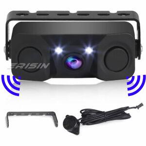 170º Car Auto Reverse Parking Radar Rear View Camera with 3 in 1 Parking Sensor