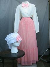 Victorian Womens Costume Edwardian Dress Civil War Reenactment Style