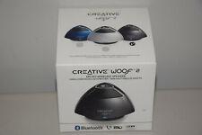 Creative Woof 2 Portable Micro Wireless Bluetooth Speaker Built-in  Speakerphone