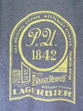 Large Tee T-Shirt: PILSNER URQUELL Lager Bier Since 1842 ~ CZECH REPUBLIC ~ NEW