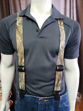 SureKlip Suspenders, Heavy Duty Composite Clips, 14 Design Prints, TSA FRIENDLY
