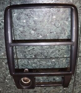 OEM 97-01 Toyota Camry XV20 radio ashtray console panel bezel cover carbon fiber