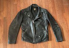 Beck Post Northeaster Flying Togs Vintage Leather Motorcycle Jacket