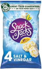 Snack un Jacks sel et vinaigre de riz, 8 x carton de 4 (32 single packs