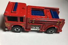Hot Wheels 1976 Fire Eater Die Cast Metal Fire Truck Engine Malaysia Vintage