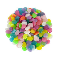 20pcs Decorative Gravel Glow in the Dark Pebbles Stones for Walkway Ornaments