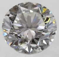 0.22 Carat I Color VS2 Round Brilliant Enhanced Natural Loose Diamond 3.83mm
