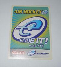 Nintendo e-Reader Air Hockey Promo Card