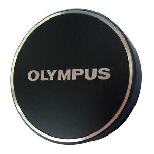 New Olympus LC-48B Black Metal Lens Cap for M.ZUIKO 17mm f1.8 Lens - US Seller