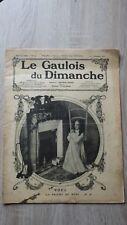 LE GAULOIS DU DIMANCHE No 54 Decembre 1908 + CALENDRIER 1909 ill. Leloir