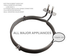 UNIVERSAL OVEN FAN  ELEMENT 2300W TRIPLE RING LONG NECK BLANCO TECHNIKA LOFRA