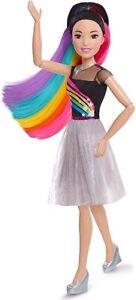 "Barbie Doll 28"" Rainbow Sparkle Best Fashion Friend World ship"