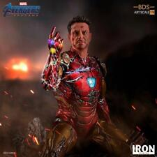 Iron Studios 1/10 Avengers Endgame Iron Man Mark Statue Avengers Figure Toys