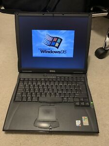 Dell C640 Intel Pentium 4 768Mb RAM Laptop Windows 98 Retro Serial RS232