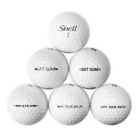 48 Snell Mix Near Mint Used Golf Balls AAAA *In a Free Bucket!*
