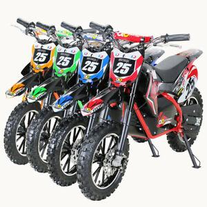 Kinder Motocross Dirt Bike Cross Motorrad Pocketbike Enduro Pocket Mini Elektro