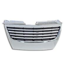 Grille Sports Grill Grille Front Grill without Emblem Chrome for VW Passat 3c B6