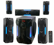 Rockville HTS56 1000w 5.1 Channel Home Theater with 8 inch Subwoofer - Black